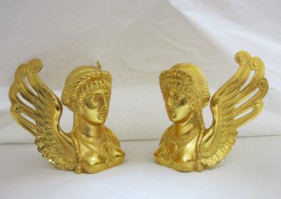 Bronzes d'ameublement Sphynx