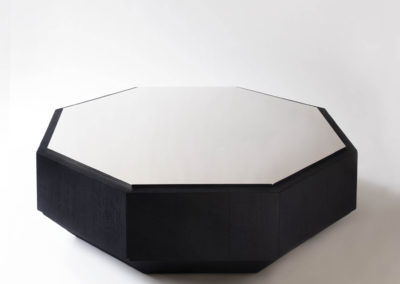 Burnt Wood Coffee Table par Martin Massé